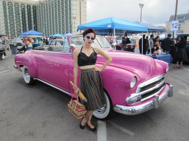 Classic Car Shows The Vintage Hollywood Hepcat - Vegas rockabilly car show